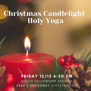 Christmas Candlelight Holy Yoga- Denver
