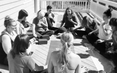 Holy Yoga at Colorado women's retreat