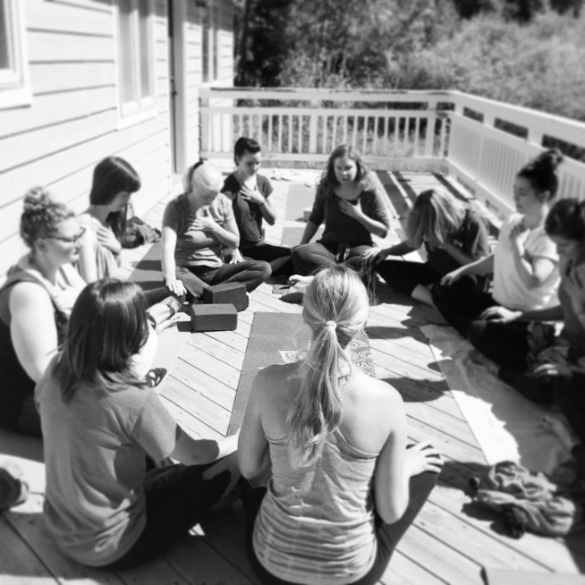 Holy Yoga at Colorado women's retreat